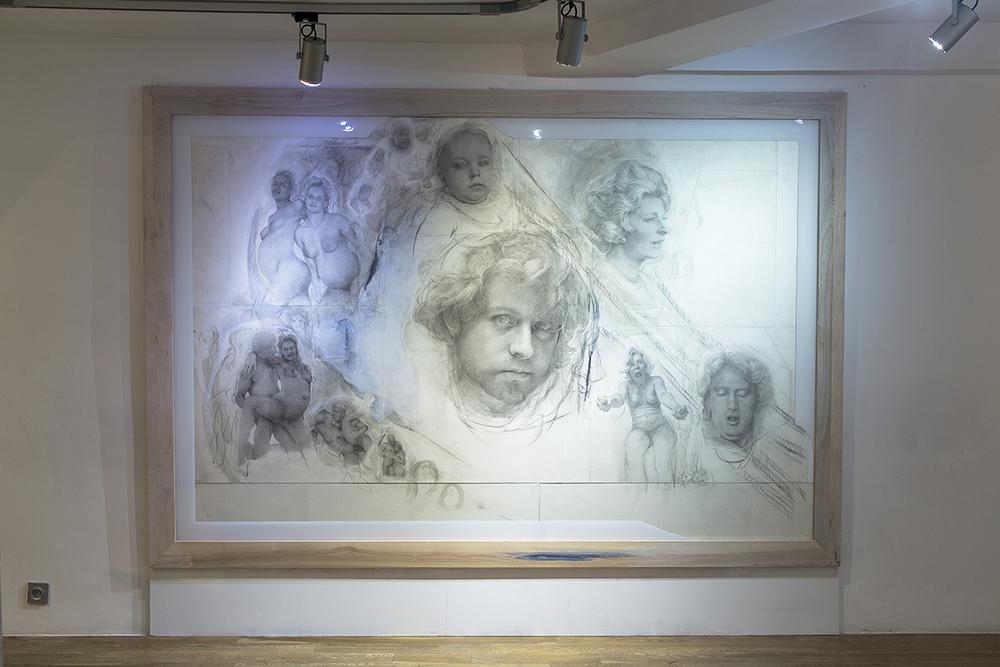 SetP STANIKAS, exhibition view, October 2015, Sobering Galerie