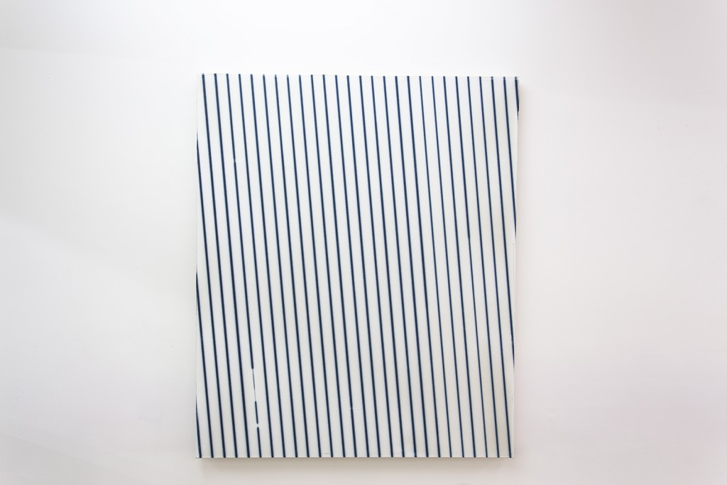 Thomas Baumann Untitled, 2014-2015 acrylic on canvas, 120 x 100 cm
